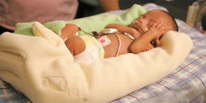 zaky glove for premature NICU babies