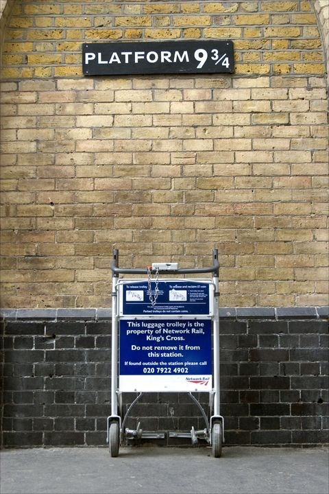 harry potter kings cross station