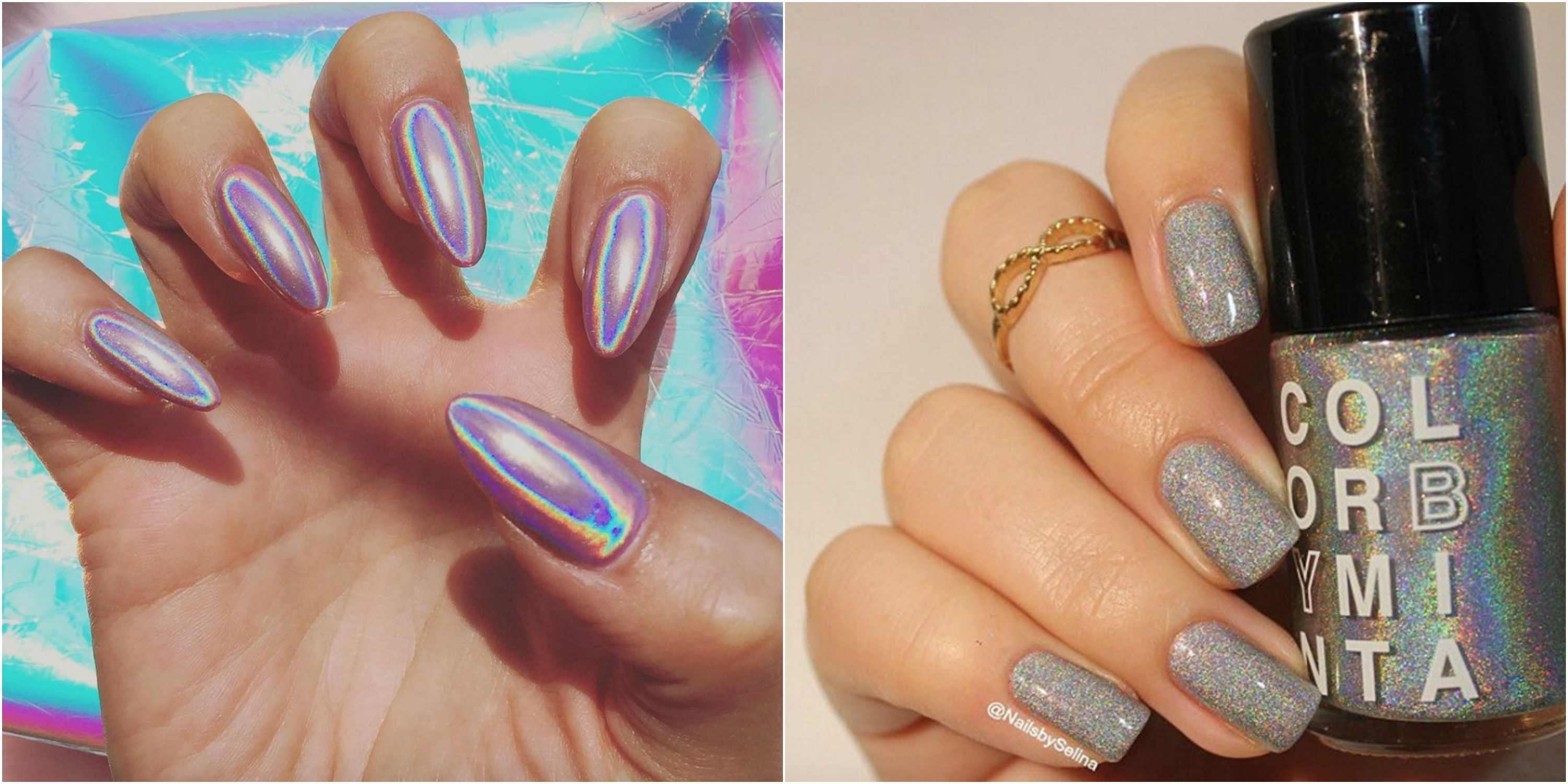 Holographic Nails Are Instagram\'s Latest Obsession - Holographic ...