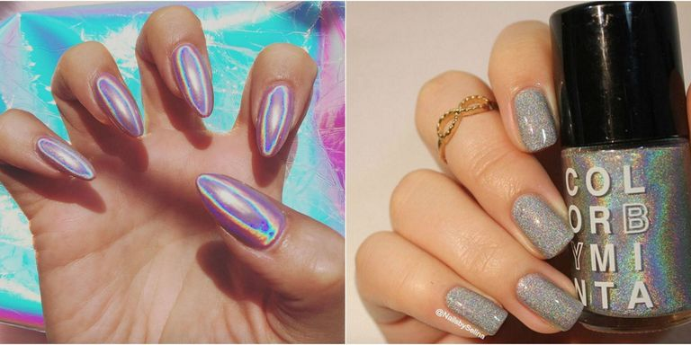 Holographic Nails Are Instagram S Latest Obsession