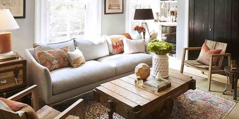 Ideas To Decorate A Small Living Room Small space decorating ideas decorating and design tips for small choose a pale neutral with a streamlined profile eg narrow arms and back sisterspd