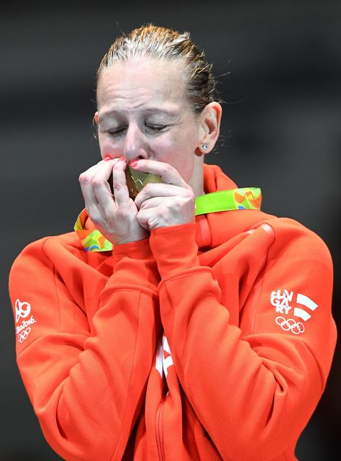 Olympic Gold Medalists Crying at the 2016 Rio Olympics
