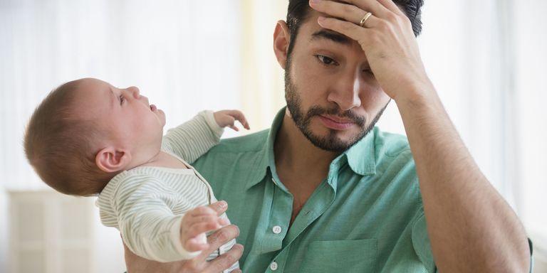 Image result for man stress kids