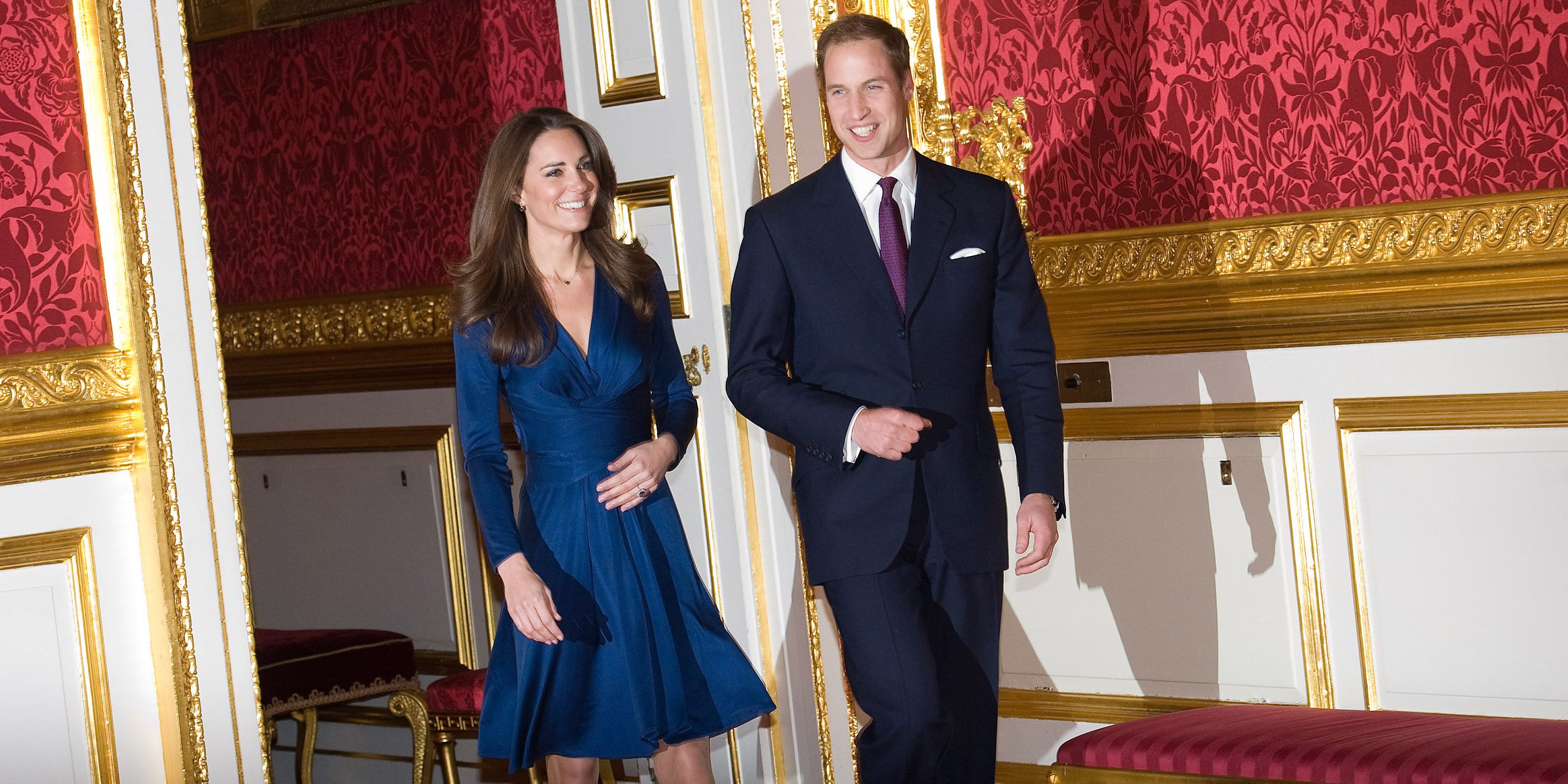 You Can Now Get Kate Middleton S Blue Engagement Dress For Less Monsoon