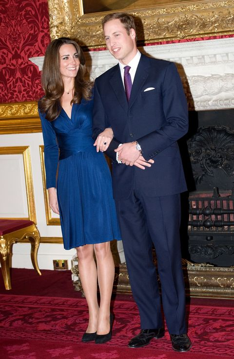 Kate Middleton Blue Issa Dress