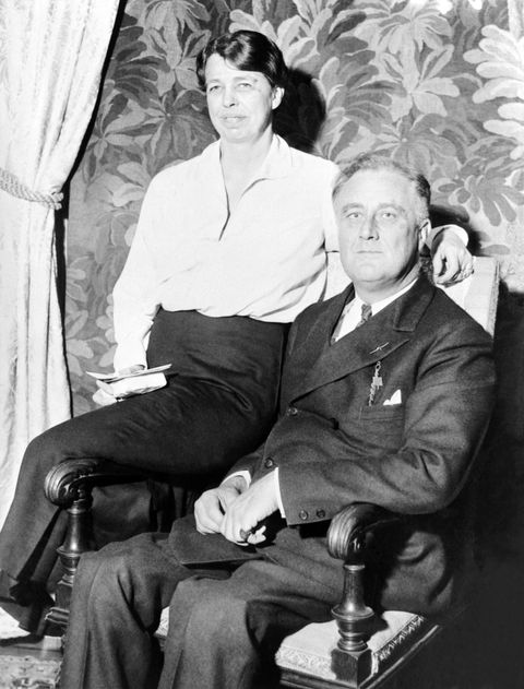 hollywood power couples: franklin and eleanor roosevelt