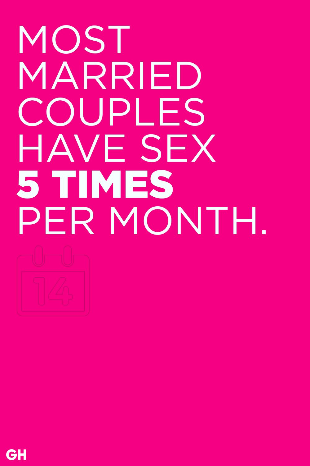 couples married sex stats