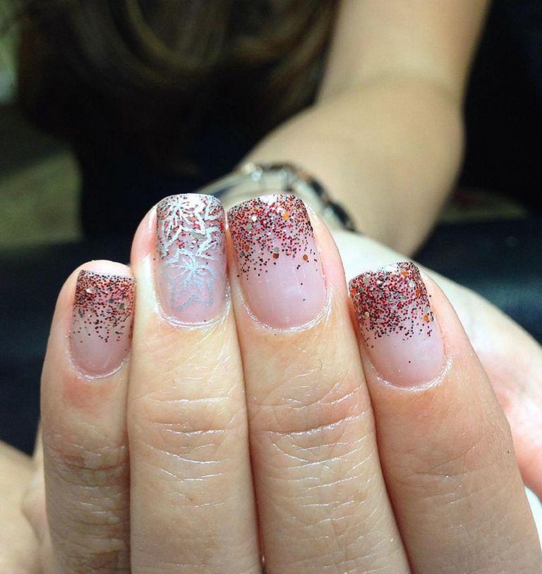 Nails from November on @nailscontext | Nail art, Nail art