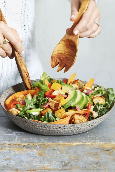Arugula-Kale Harvest Salad - Healthy Lunch Ideas