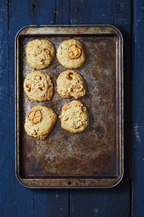 Sweet and Salty Zucchini Bread Cookies