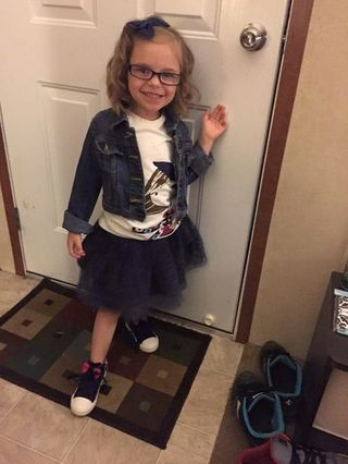 5-Year-Old's Before and After First Day of School Photos Go