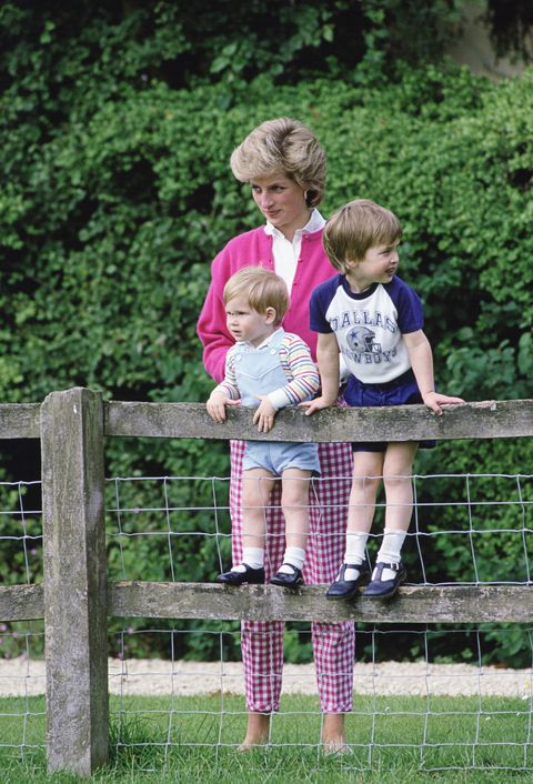 photos of princess diana at home