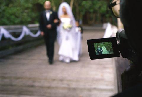 Coat, Suit, Photograph, Dress, Formal wear, Wedding dress, Bridal clothing, Marriage, Ceremony, Bride,