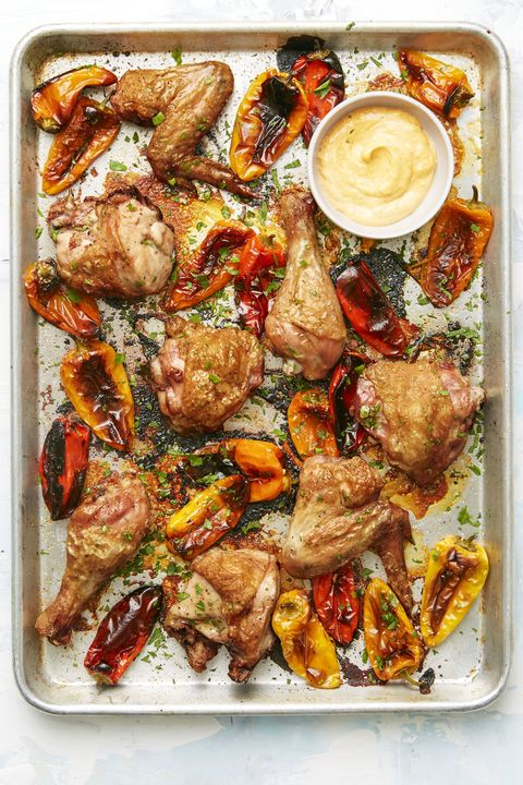 Spanish Chicken and Peppers - Healthy Chicken Dinners