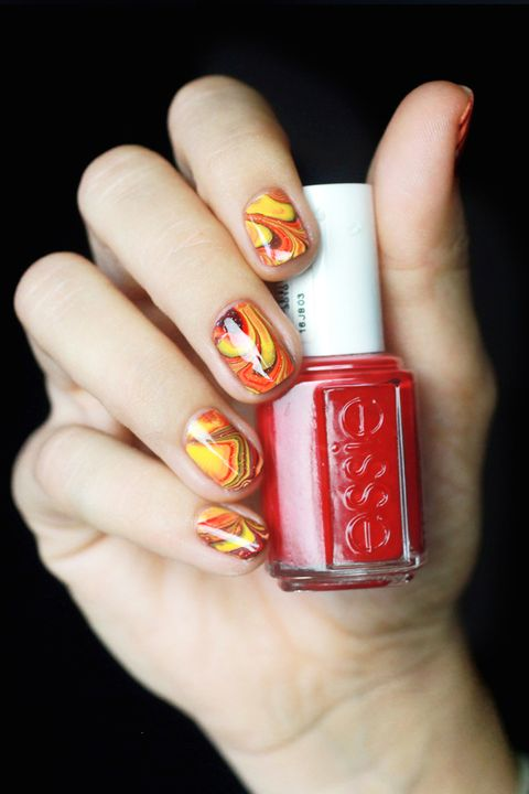 26 Thanksgiving Nail Art Designs Ideas For November Nails
