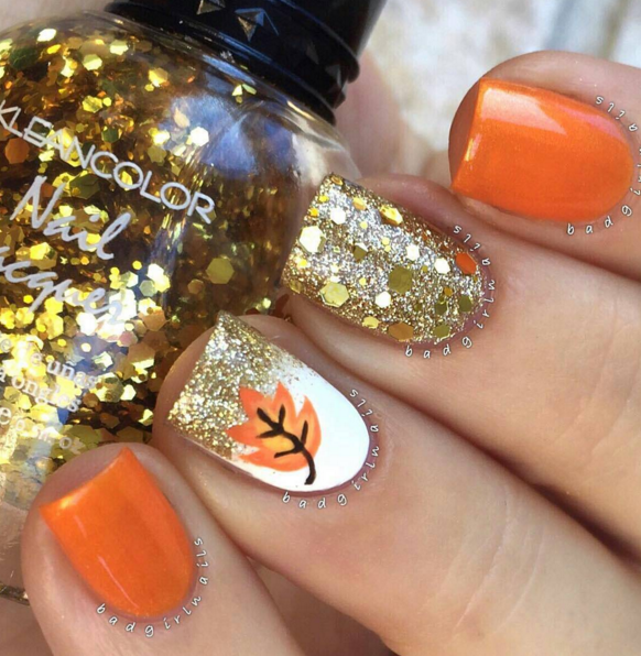 35 Fall Nail Art Ideas Best Designs And Tutorials For 2017