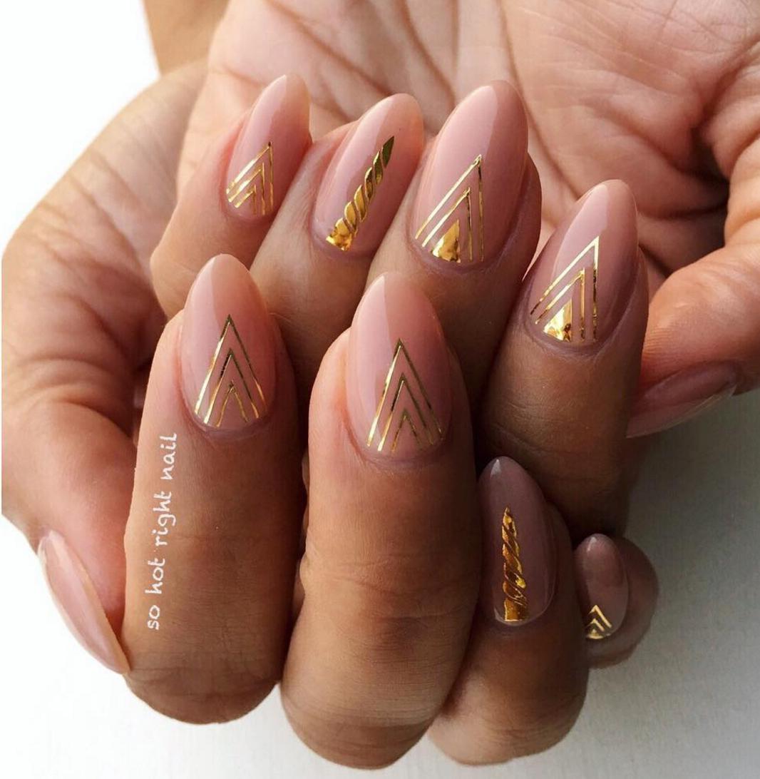 25 Thanksgiving Nail Art Designs - Ideas for November Nails