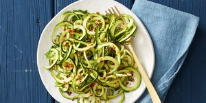 Asian Sesame Zucchini Noodles - Labor Day Recipes
