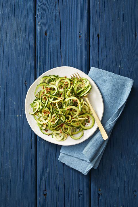 asian sesame zucchini noodles   labor day recipes