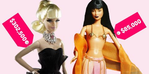 The 9 Most Expensive Barbie Dolls Of