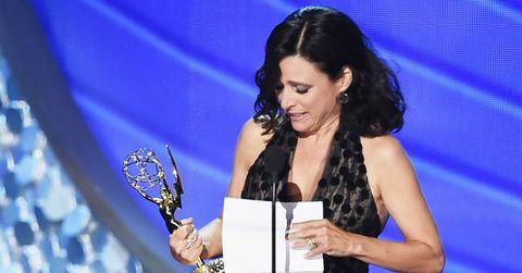 Julia Louis-Dreyfus Speech Emmy Awards 2016