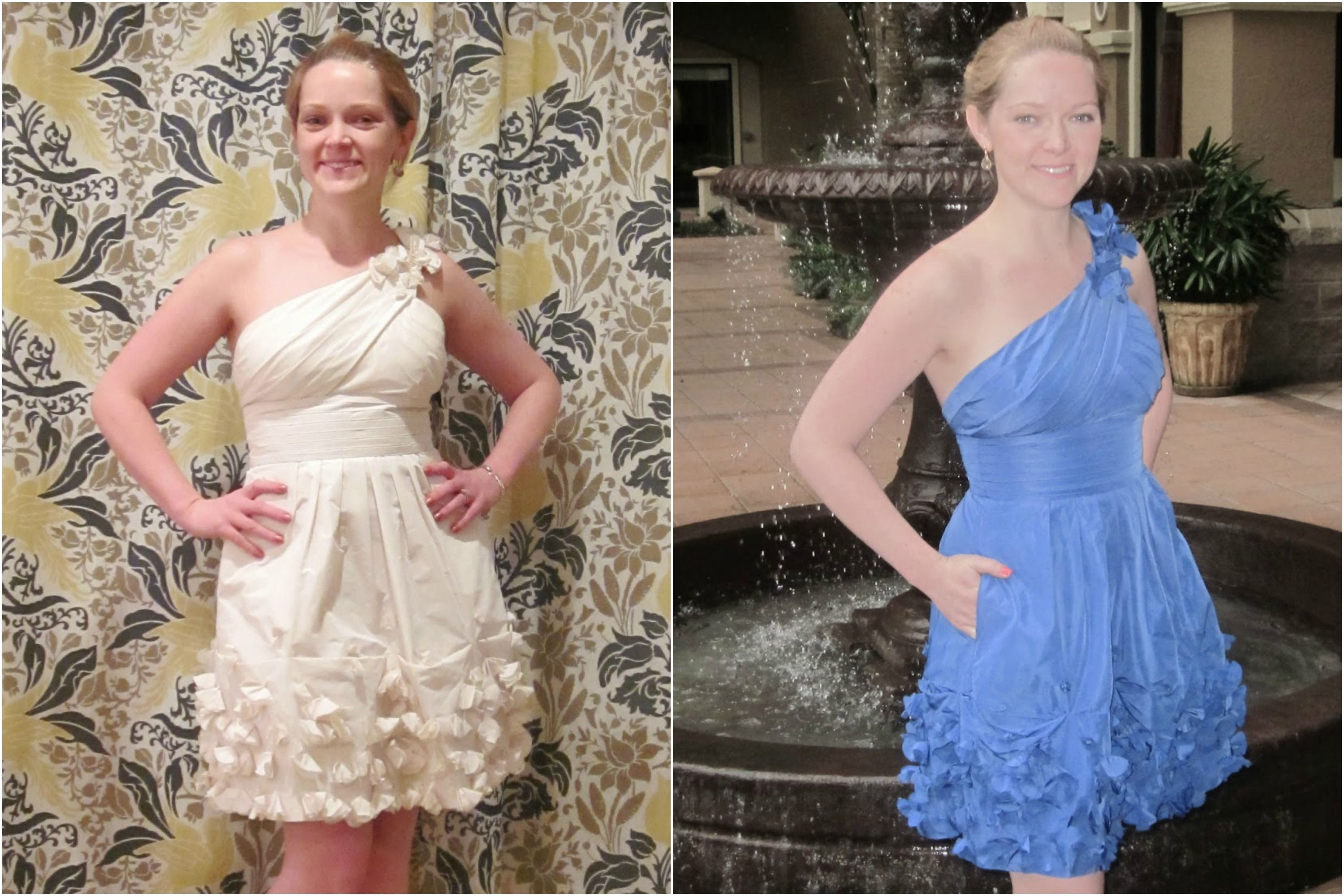 014410cea9 9 Wedding Dress Transformations That Are Seriously Incredible