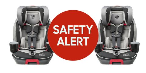 Image Evenflo Recalls 30k Car Seats