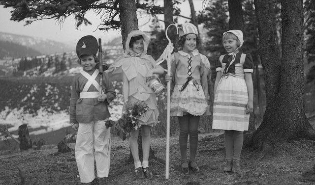125 years of halloween costumes vintage halloween costumes