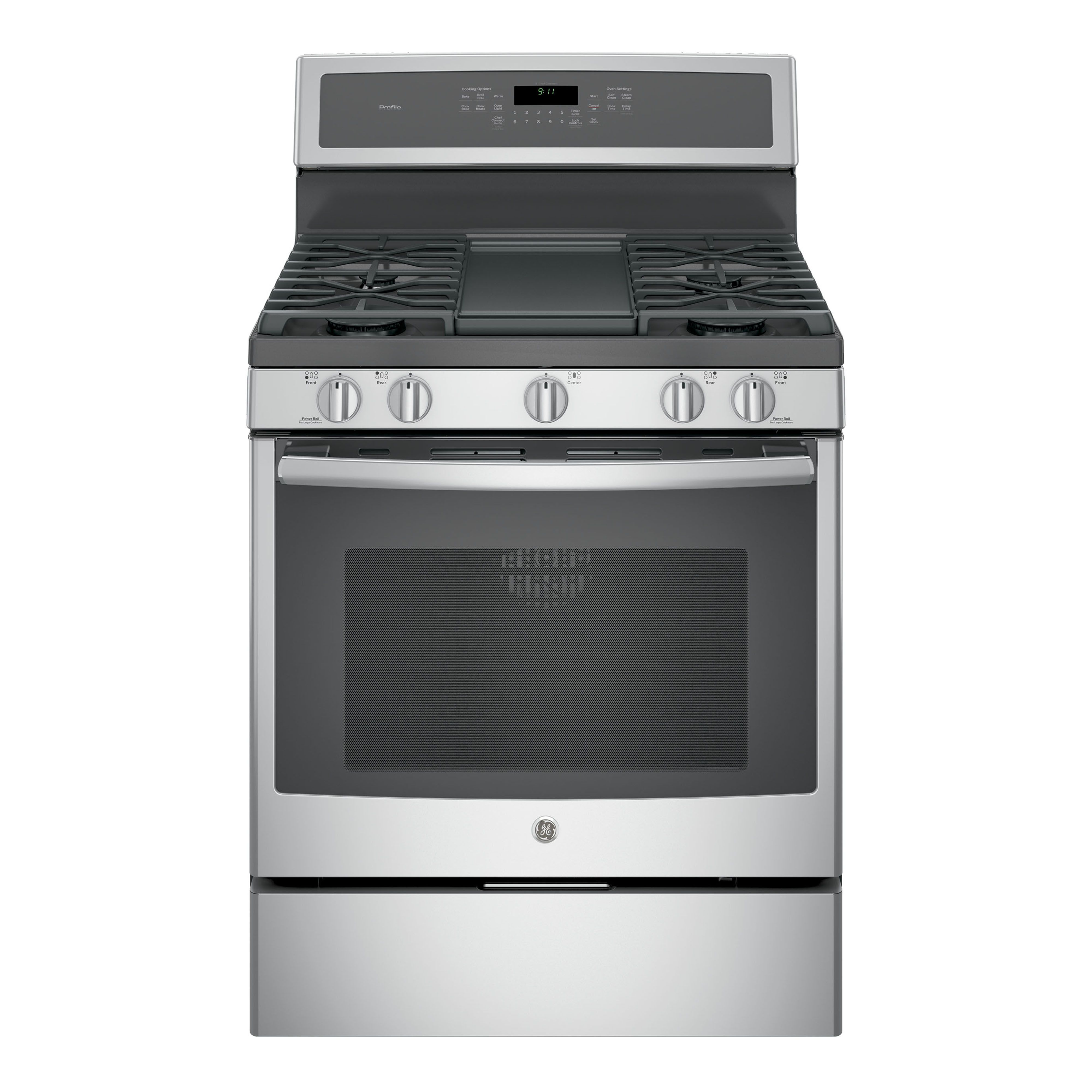"GE Profile Series 30"" Free-Standing Gas Convection Range #PGB911SEJSS  Review, Price, and Features"