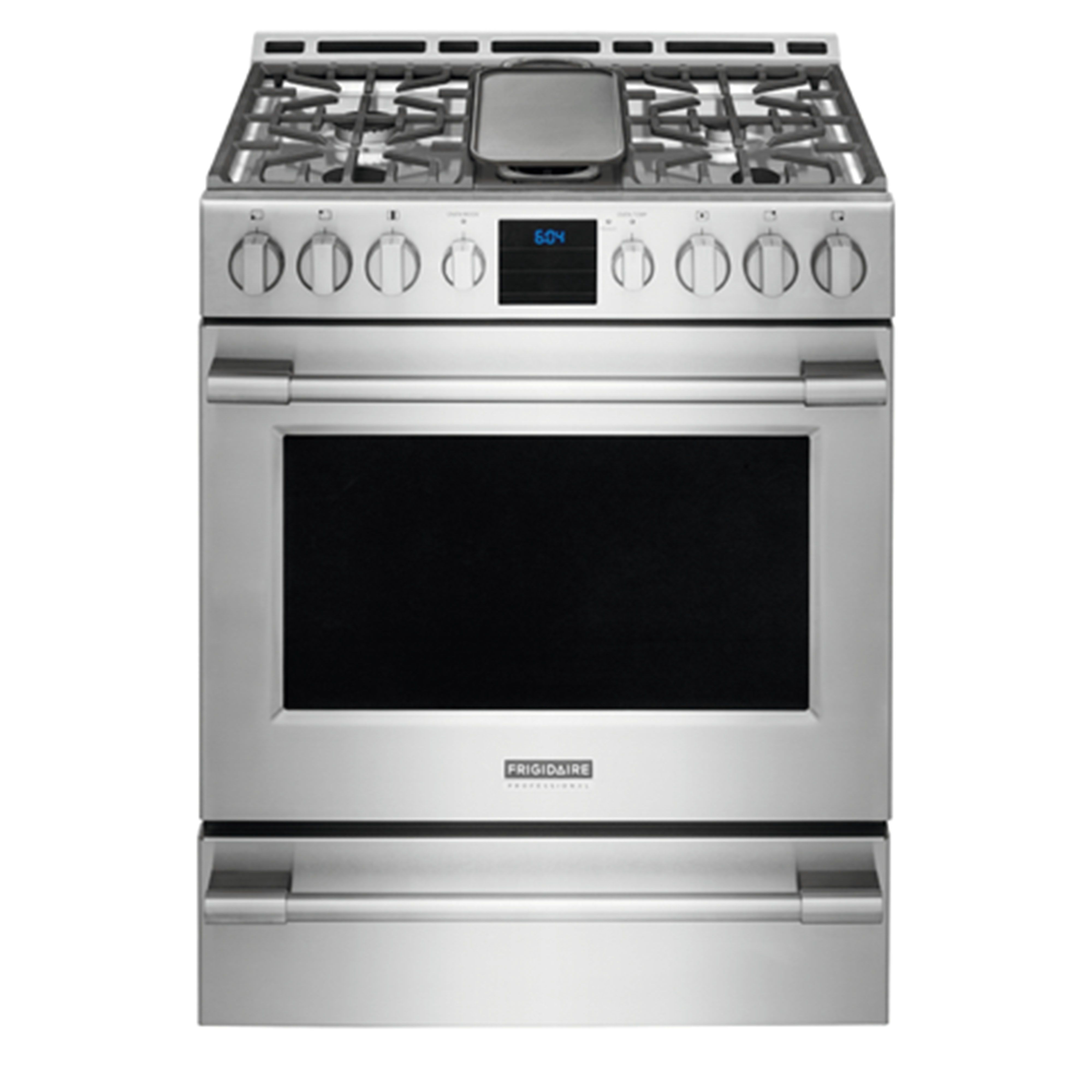 """Frigidaire Professional 30"""" Gas Front Control Freestanding Range  #FPGH3077RF Review, Price and Features"""