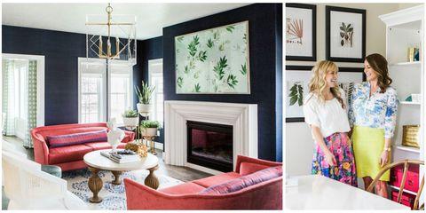 Green, Room, Interior design, Property, Living room, Home, Hearth, Floor, Wall, Interior design,