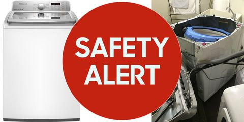 Samsung Washing Machines Recalled Due to Risk of Explosion - Samsung