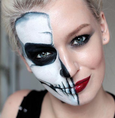 40 easy halloween makeup ideas  tutorials 2017  cool