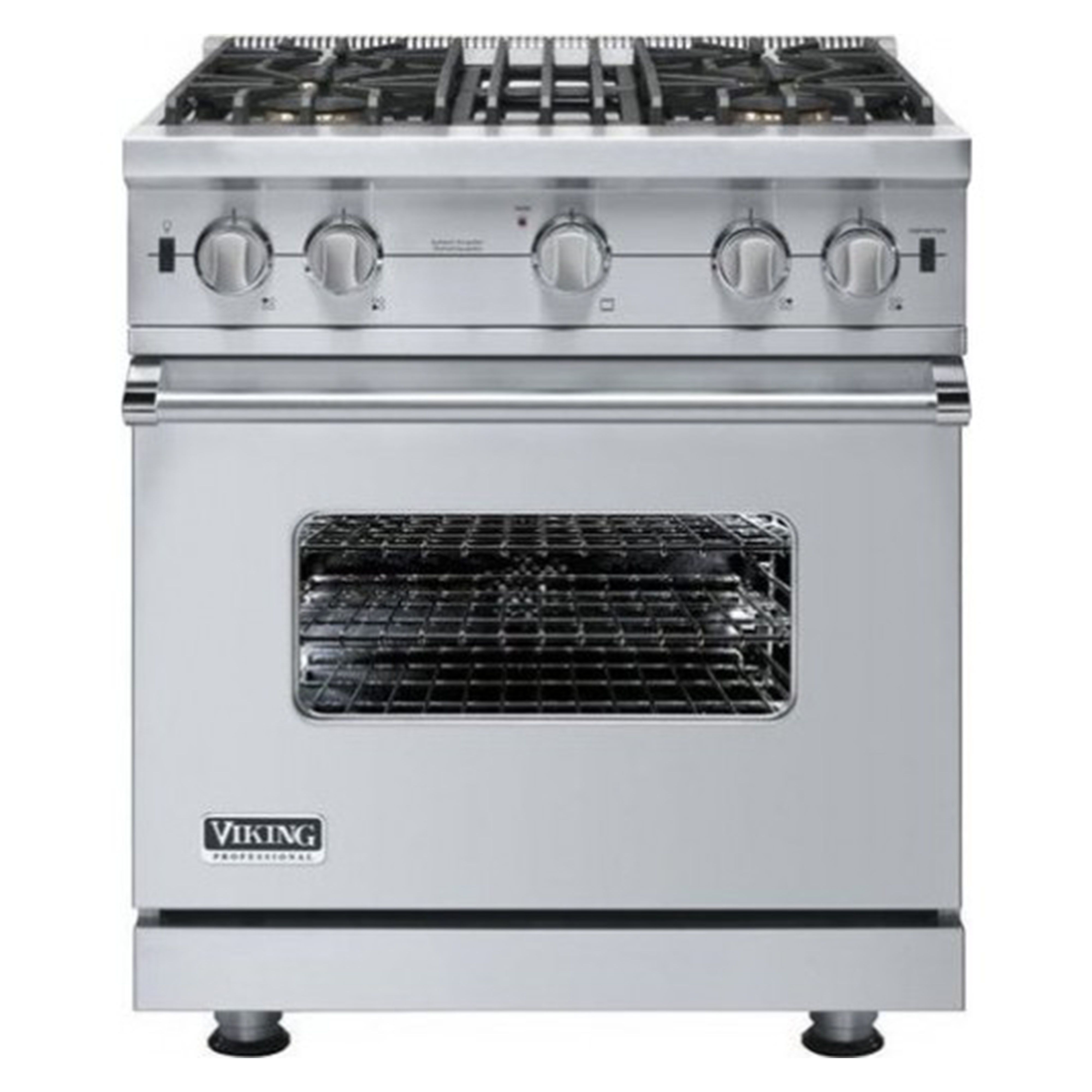 """Viking 30"""" Open Burner Gas Range #VGIC53014BSS Review, Price and ..."""