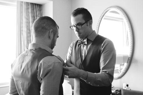 Eyewear, Glasses, Vision care, Sleeve, Collar, Dress shirt, Shoulder, Shirt, Photograph, Standing,