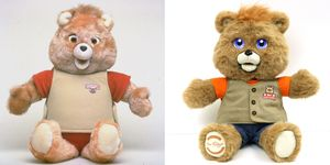 Teddy Ruxpin before and after