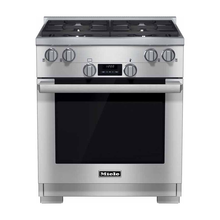 Miele 30 All Gas Range #HR1124