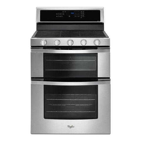 Whirlpool 6.0 Total cu. Ft. Double Oven Gas Range with AccuBake System #WGG555SOBS,