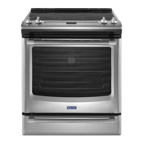 Maytag 30-Inch Gas Range with Convection and Fit System #MGS88880DS