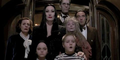 addams family tv show cast