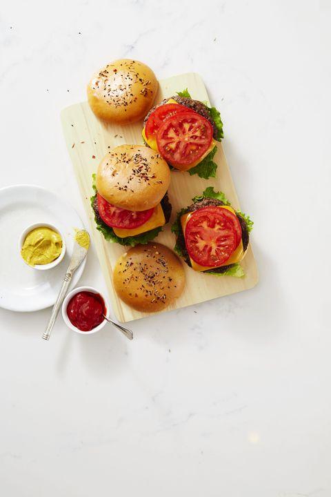 beef and mushroom burgers recipe