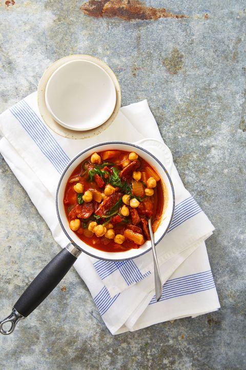 Spanish Chorizo Stew Recipe