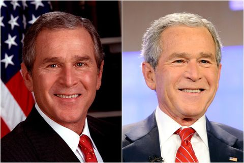 20 U S Presidents Before And After They Served In Office Photos