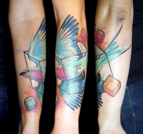 Beautiful Watercolor Tattoos