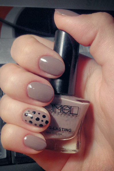 Nude Nails: 30 Beautiful Nude Color Nail Designs | - Part 17