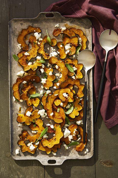 healthy side dishes   roast squash