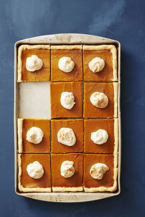 pumpkin slab pie  thanksgiving desserts