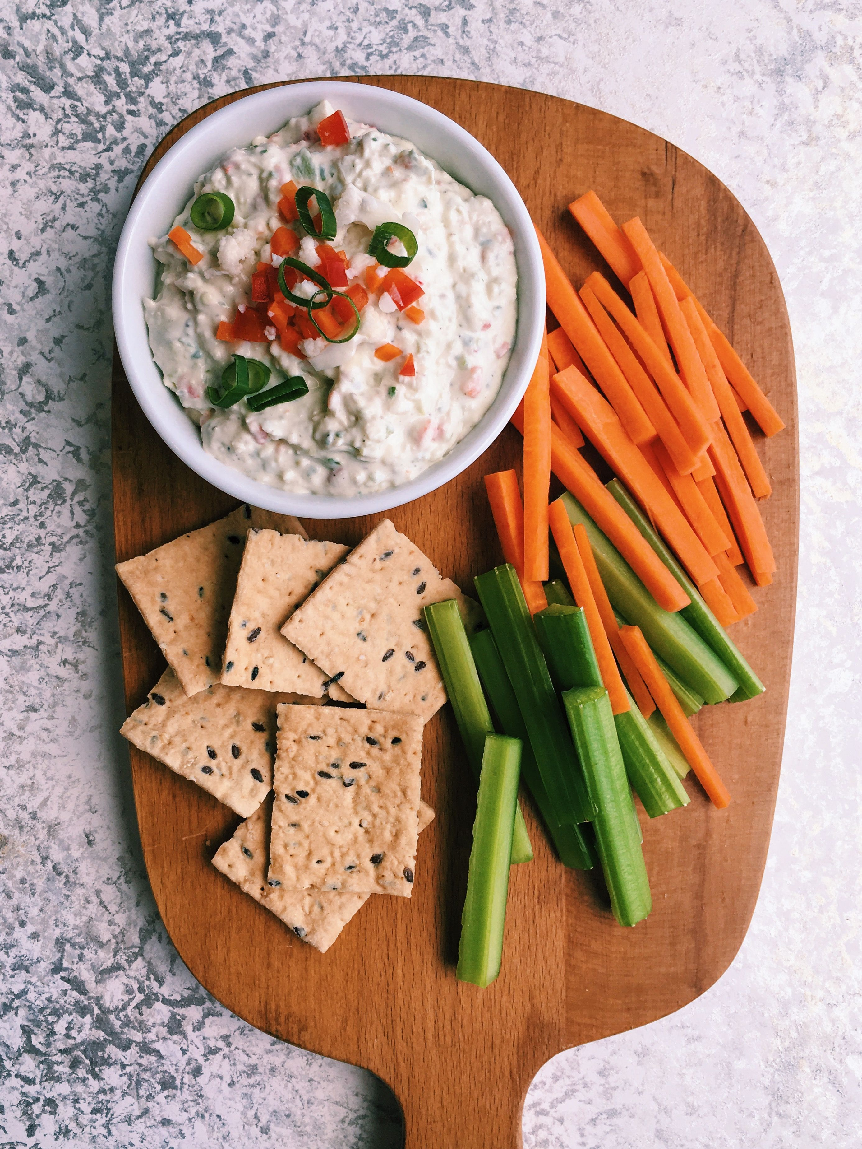 Italian Pickled Veggie Dip