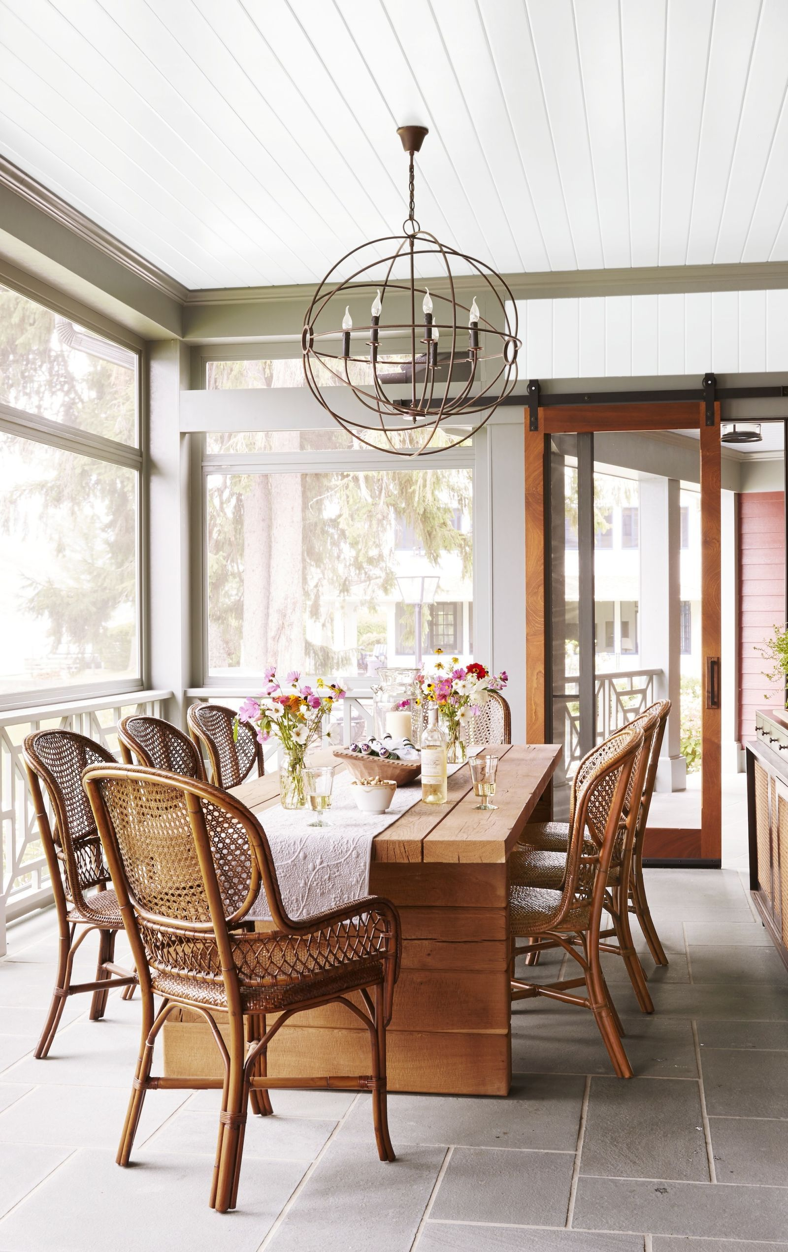 Sunroom Interior Decorating Part - 19: Good Housekeeping