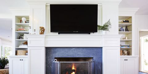 Hearth, Wood, Room, Home, Property, Interior design, Wall, Floor, Heat, Fireplace,